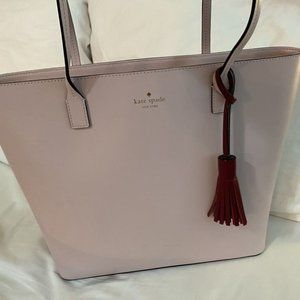 Authentic Kate Spade Karla Wright Place Plum Tote